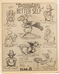 Enjoy a gallery of 100 Original Cartoons Model Sheet from Walt Disney Animation Studio, MGM & more. Character Model Sheet, Character Sketches, Character Modeling, Character Drawing, Character Design, Disney Sketches, Disney Drawings, Cartoon Drawings, Animation Sketches