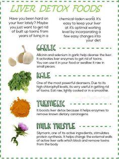 Foods To Detox Your Liver #Food #Drink #Trusper #Tip