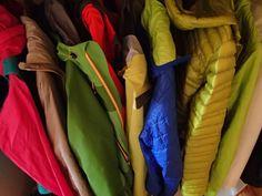 Colourful garderobe
