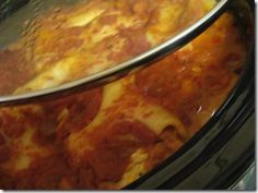 Vegan crockpot lasagna -- healthy, delicious, vegan and crockpot meal.  What more could you want?