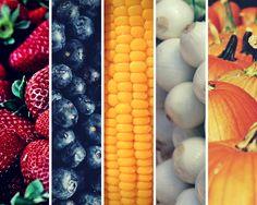 Los colores y los alimentos