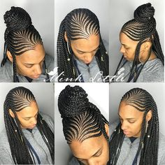 Braid Hairstyles You Should Rock Before This Year Runs Out!-Braid Hairstyles You Should Rock Before This Year Runs Out! – BoxBraidsMAXX Braid Hairstyles You Should Rock Before This Year Runs Out! Box Braids Hairstyles, Braids Hairstyles Pictures, My Hairstyle, African Hairstyles, Hair Pictures, Girl Hairstyles, Hairstyles 2018, Medium Hairstyles, Braided Hairstyles For Black Women