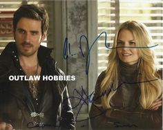"Photo 1/2 - Love Jmo's placement of ""Captain + Swan"" #OUAT #JenniferMorrison #CaptainSwan #ColinODonoghue"