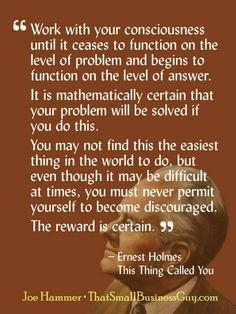I Love Ernest Holmes!