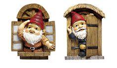 KNOTHOLE Gnomes TREE Dwelling Gnomes  http://gnomemiracle.com/knothole-gnomes-tree-dwelling-gnomes/