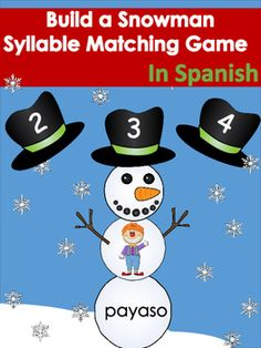 Spanish Syllables Practice With 3 Syllable Words Palabras