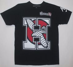 Hayabusa Team H T-Shirt -M - Black Graphic Tee, Short Sleeve Size M 100% Cotton #Hayabusa #GraphicTee