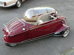 pinterest.com/fra411 #car - Messerschmitt KR 175