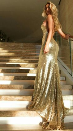 Sequin Prom Dresses,Modest Prom Gown,Cheap Prom by PrettyLady on Modest Prom Gowns, Sequin Prom Dresses, Homecoming Dresses, Wedding Dresses, Bridesmaid Dresses, Sequin Gown, Evening Dress Long, Gold Evening Dresses, Long Gold Dress