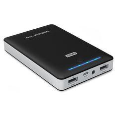 Amazon.com: RAVPower 16750mAh 4.5A Dual USB Output Portable Charger External Battery Power Bank (iSmart Technology) - Black: Cell Phones & Accessories