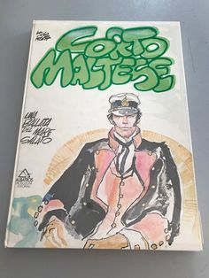 """Corto Maltese - hardcover volume with acetate dust jacket """"Una ballata del mare salato"""" (1976) - W.B."""