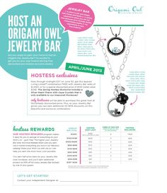 Origami Owl offers great hostess rewards! Interested in hosting an online party? Contact me today!  www.owllockets.com