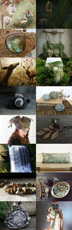 woodlands by 3buu on Etsy--Pinned with TreasuryPin.com