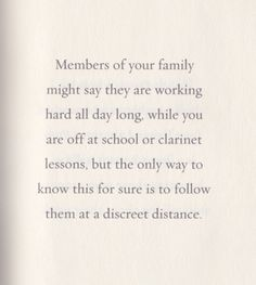 Family by lemony snicket