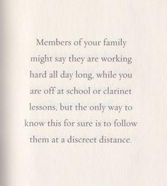 Family by lemony snicket