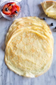 EASY and delicious Crepes - Tastes Better from Scratch Easy Smoothie Recipes, Snack Recipes, Cooking Recipes, Pancake Recipes, Waffle Recipes, Easy Crepe Recipe, Crepe Recipes, Breakfast Crepes, Mexican Breakfast