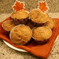 Weight Watchers 2 Point- Pumpkin Muffins Recipe