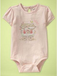 i love baby Gap's onesies.