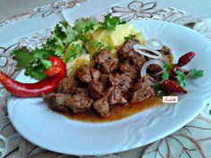 Vörösboros báránypörkölt Beef, Cooking, Food, Red Peppers, Meat, Kitchen, Essen, Meals, Yemek