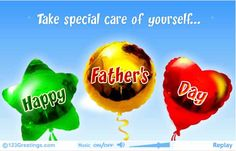 Special balloon wishes for Father's Day. Free online Flying Balloons For Father's Day ecards on Father's Day Happy Dad Day, Happy Fathers Day, Happy Mothers, Fathers Day Ecards, Flying Balloon, Mother And Father, How To Memorize Things, Balloons, Clip Art