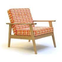Sillon Moderno Retro Vintage Diseño Escandinavo Madera
