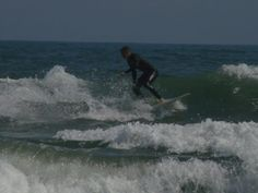 Brother surfing