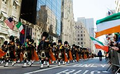 Plan ahead: it's on Saturday, March 16 this year. The parade marches up Fifth Avenue, beginning at Street at It travels up the avenue to Street, usually ending between and [Photo: Joe Buglewicz/NYC & Company] St Patricks Day Parade, Saint Esprit, Irish Culture, St Paddys Day, Emerald Isle, Irish Dance, The St, New Day, God