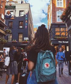 Fjallraven Kanken Air Blue Backpack | Urban Outfitters | Women's | Accessories | Bags via @lousamper #UOEurope #UrbanOutfittersEU #UOonYou