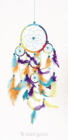 Dreamcatcher Rainbow 12cm 110952