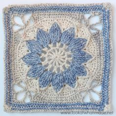Transcendent Crochet a Solid Granny Square Ideas. Inconceivable Crochet a Solid Granny Square Ideas. Granny Square Crochet Pattern, Crochet Blocks, Crochet Squares, Crochet Motif, Crochet Stitches, Crochet Baby, Free Crochet, Knit Crochet, Crochet Patterns