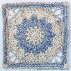 Transcendent Crochet a Solid Granny Square Ideas. Inconceivable Crochet a Solid Granny Square Ideas. Granny Square Crochet Pattern, Crochet Blocks, Crochet Motif, Crochet Stitches, Free Crochet, Crochet Baby, Crochet Patterns, Flower Crochet, Crochet Squares Afghan