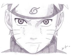 Naruto by MalleyMalos Naruto Drawings, Naruto Sketch Drawing, Anime Drawings Sketches, Anime Sketch, Manga Drawing, Cool Drawings, Naruto Shippuden Sasuke, Anime Naruto, Naruto Cute