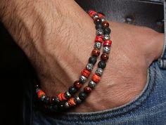 Good pattern for a man's necklace or bracelet.