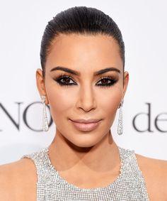 Kim Kardashian's Reverse Cat Eye