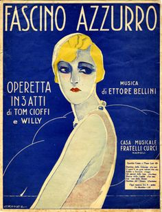 Illustrated Sheet Music: An image collection of sheet music cover art