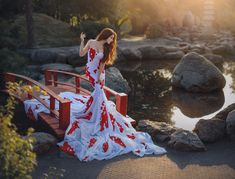 Koi Fish Artistic Portrait Photography, Art Photography, Koi, Photoshoot, Fish, Fantasy, Photo And Video, Creative, Gorgeous Dress