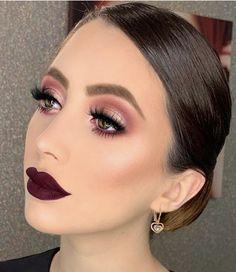 makeup makeup goals 30 The Newest Glam makeup idea Glam Makeup, Formal Makeup, Skin Makeup, Makeup Inspo, Bridal Makeup, Eyeshadow Makeup, Makeup Inspiration, Makeup Style, Makeup Ideas