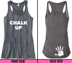 Um sorry crossfit but gymnasts used chalk way before you-this should be a gymnastics shirt