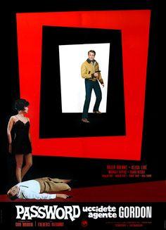 A Year of Spy Films 246/365 Password: Uccidete agente Gordon (1965 Italy / Spain) aka Password: Kill Agent Gordon  The International Spy Film Guide Score: 8/10 #isfg #spyfilmguide #eurospy #rogerbrowne #helgaline #gadgets #spymovie #spyfilm https://www.kisskisskillkillarchive.com