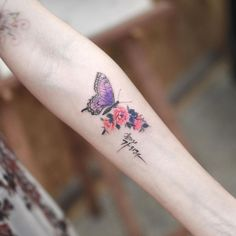 45 Adorable Butterfly Tattoos For Women - 32 Adorable Butterfly . - 45 adorable butterfly tattoos for women – 32 adorable butterfly tattoos for women – - Butterfly Tattoo Meaning, Butterfly Tattoos For Women, Small Butterfly Tattoo, Butterfly Tattoo Designs, Baby Tattoos, Friend Tattoos, Body Art Tattoos, Cool Tattoos, Wrist Tattoo Cover Up