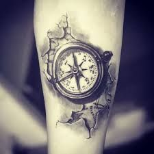 compass tattoo - Recherche Google