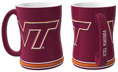 Virginia Tech Hokies Coffee Mug - 14oz Sculpted