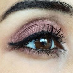 Burgundy Eyeshadow.. by @Ebrkartal