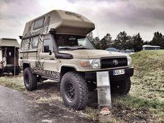 Image result for toyota hzj79 dc camper