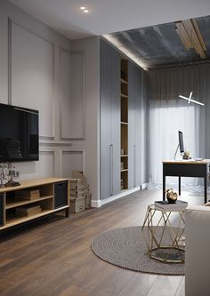 Home, interior, home design Interior Design And Build, Room Interior Design, Living Room Interior, Living Room Decor, Classic Interior, Modern Interior, Bedroom Minimalist, Living Room Designs, House Design