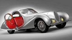 1938 Talbot-Lago T150-C SS Teardrop Coupe. Only 16 built.