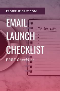 FREE ESSENTIAL EMAIL LAUNCH CHECKLIST Feel less like you're going to throw up the next time you hit send. #productlaunch #servicelaunch #courselaunch Email Newsletter Design, Email Newsletters, Email Marketing Strategy, Email Campaign, Geek Out, Copywriting, Flourish, Helpful Hints, Entrepreneur