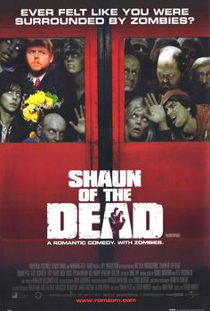 I've seen (and loved, and own) Hot Fuzz and only heard good things about Shaun of the Dead, so I decided to watch it. I really enjoyed it...zombies aren't really my deal, but it was really funny
