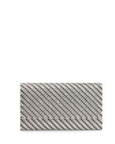 V2UXY Judith Leiber Couture Manhattan Crystal Evening Clutch Bag, Jet/Rhinestone