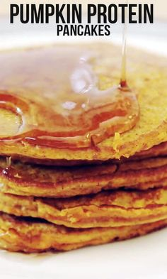 Pumpkin Protein Pancakes to get your body PUMPED UP!